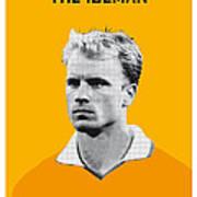 My Bergkamp Soccer Legend Poster Art Print