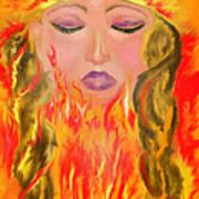 My Burning Within Art Print