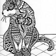 My Cat Art Print