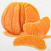 My Clementine Art Print
