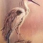 My Crane Art Print