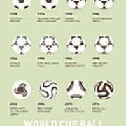 My Evolution Soccer Ball Minimal Poster Print by Chungkong Art