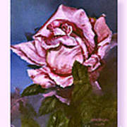 My First Rose Art Print