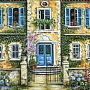 My French Villa Art Print