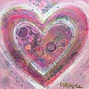 My Glittering Heart Art Print