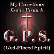 My Gps Art Print