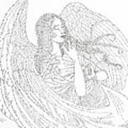 My Guardian Angel Art Print