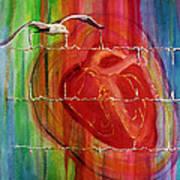 My Hearts  Echo Art Print