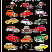 Hot Rod Ford Poster Art Print