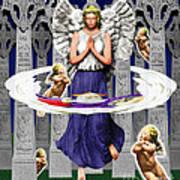 My Irish Angel Art Print
