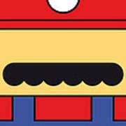 My Mariobros Fig 01 Minimal Poster Art Print