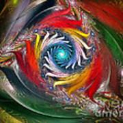 My My Beautiful Laundrette-fractal Art Art Print by Karin Kuhlmann
