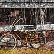 My Old Bike Art Print