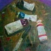 My Paints Art Print