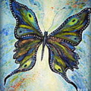 My Peacock Butterfly Art Print
