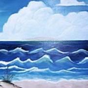 My Private Beach Art Print by Dwayne Barnes