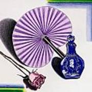 My Purple Fan Art Print