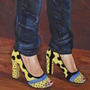 My Shoes Art Print