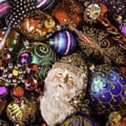 My Special Christmas Ornaments Art Print