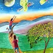 My Spiritual Metamorphosis Art Print