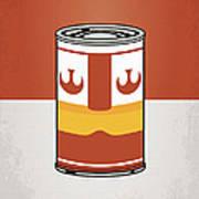 My Star Warhols Luke Skywalker Minimal Can Poster Art Print