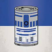 My Star Warhols R2d2 Minimal Can Poster Art Print