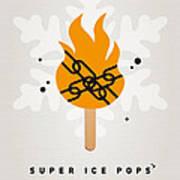 My Superhero Ice Pop - Ghost Rider Art Print