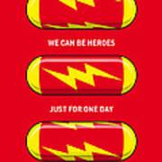 My Superhero Pills - The Flash Art Print