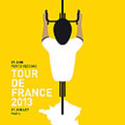 My Tour De France Minimal Poster Art Print