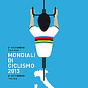 My World Championships Minimal Poster Art Print by Chungkong Art