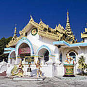 Myanmar Buddhist Temple Art Print