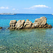 Mykonos Blue Aegean Art Print