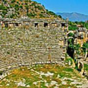 Myra's Roman Theatre In Fourth Century-turkey Art Print