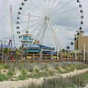 Myrtle Beach Skywheel 10 Art Print