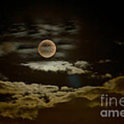 Mysterious Moon Print by Boon Mee
