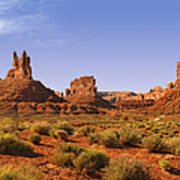 Mysterious Valley Of The Gods Art Print by Christine Till