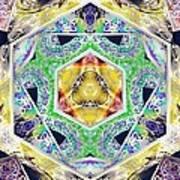 Mystery Cube Art Print