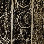 Mystery Lady Art Print