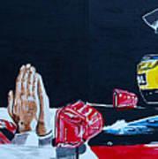 Mystic Ayrton Senna Art Print