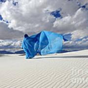 Mystic Blue 11 Art Print