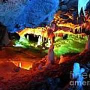 Mystic Caverns Art Print