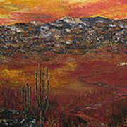 Mystic Desert Art Print