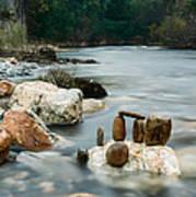 Mystic River I Art Print