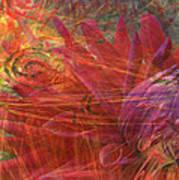 Mystical Dahlia Art Print