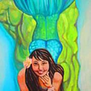 Mystical Mermaid Art Print