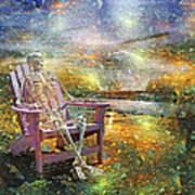 Mystical Sam On Topsail Art Print