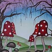 Mysticle Forest Art Print