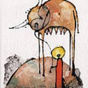Mythos 3  Art Print by Mark M  Mellon