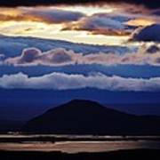 Myvatn Sunset Art Print