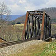 N W Railroad Trestle Art Print